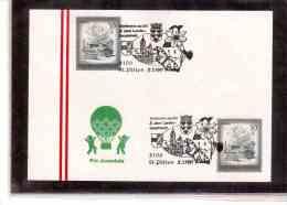 AU521   -   ST.POELTEN  5.7.1991      /      5 JAHRE LANDES-HAUPTSTADT - Briefmarken