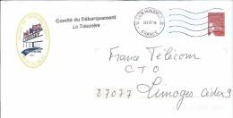 COMITÉ DU DÉBARQUEMENT - 14 ARROMANCHES - 6 JUIN D DAY - Entiers Postaux