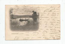 Cp , 38 , CHARAVINES , Le Lac , Dos Simple , Voyagée 1902 - France