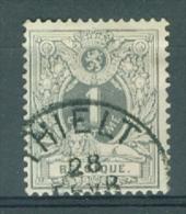 "BELGIE - OBP Nr 43 - Liggende Leeuw - Cachet ""THIELT""  - (ref. ST-74) - 1869-1888 Lion Couché (Liegender Löwe)"