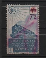 FRANCE TIMBRE COLIS POSTAUX N°227B Oblitéré.1945. - Colis Postaux
