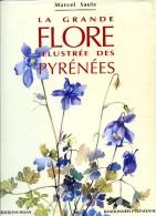 TRES RARE ! La Grande Flore Illustrée Des Pyrénées, Par Marcel SAULE, Eds. Milan/Randonnées Pyrénéennes Botanique - Midi-Pyrénées