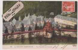 38 La Grande Chartreuse - Cpa / Vue D'ensemble Du Couvent. - Ohne Zuordnung