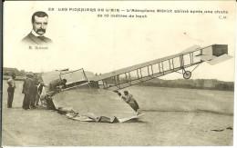 CPA  L'aéroplane Blériot Abîmé Après Une Chute De 10 M De Haut  4705 - Incidenti