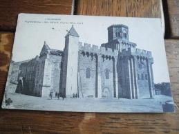 63 - 89 - ROYAT - L'EGLISE MONUMENT HISTORIQUE CPA ECRITE EN 1907 - Royat