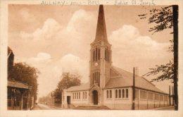 CPA - AULNAY-sous-BOIS (93) - Aspect De L'Eglise St-Joseph Du Parc Dans Les Années 30 - Aulnay Sous Bois