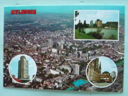 V08-68-A-haut -rhin--mulhouse-.-multivues--vue Aerienne-eglise-tour - Mulhouse