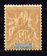 MADAGASCAR - N° 36* - TYPE SAGE - Neufs