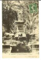 FG+ Ancre 15 - Ajaccio - La Statue De Napoléon 1er Consul -timbre Semeuse Camée 1913 - Ajaccio