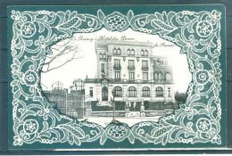 Relief - Gaufrée - Embossed - Prage - Hôtel Des Dames De France - Bords En Dentelle Gaufrée  - TBE - Le Raincy