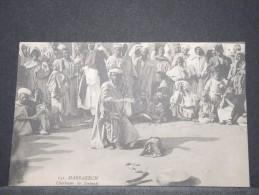 MAROC - Charmeur De Serpents - TB état - A Voir - P 16645 - Marrakech
