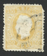 Portugal, 150 R. 1880, Sc # 48b, Mi # 49, Used. - Used Stamps