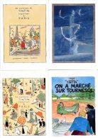 LOT DE 62 CP Impeccable - Collection Influence - Aventure De TINTIN - Milou - Haddock - Tournesol   *** Bradées à 62e ** - Otros Ilustradores