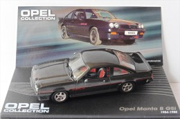 OPEL MANTA B GSI 1984 1988 BLACK IXO ALTAYA 1/43 SCHWARZ LHD LEFT HAND DRIVE - Cars & 4-wheels