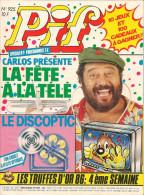 Pif N° 925 De Déc 1986 - Avec Astro, Boule & Bill, Smith & Wesson, Dicentim, Panic Circus, Totoche. Revue En TBE - Pif & Hercule
