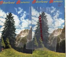 SUISSE - DEPLIANT TOURISTIQUE OBERLAND BERNOIS- INTERLAKEN-BRIENZ-BEATENBERG-SPIEZ-GRINDELWALD-MURREN-WENGEN - Tourism Brochures