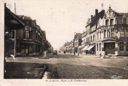 V814 Cpsm 62 Liévin - Rue J.B Defernez - Lievin