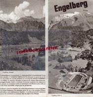 SUISSE - DEPLIANT TOURISTIQUE ENGELBERG- BERNE- - Dépliants Touristiques