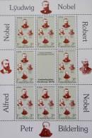 """SOCIETE """"TOVARICHI"""" FRERES NOBEL 1994 - FEUILLET NEUF ** - YT 49 - MI 36/39 - Turkménistan"""