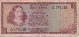 BILLETE DE SURAFRICA DE 1 RAND DEL AÑO 1975 (BANKNOTE) - Suráfrica