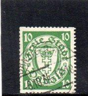 DANTZIG 1924-33 O TIMBRES POUR ROULETTES - Danzig
