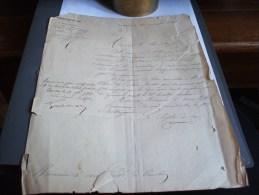 Courrier Du Préfet Du Var Au Sous-préfet De TOULON, Suite à Une Demande Travaux Du Maire De SOLLIES-FARLEDE 1868 - Sciences & Technique