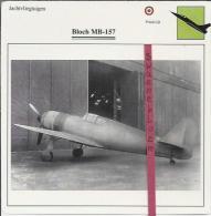Vliegtuigen.- Bloch MB-157 - Jachtvliegtuigen. -  Frankrijk - Vliegtuigen