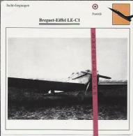 Vliegtuigen.- Breguet-Eiffel LE-C1 - Jachtvliegtuigen. -  Frankrijk - Vliegtuigen
