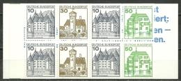 Bund -  MH 22af OZ, Postfrisch - Booklets