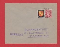 Env Foire Commerciale  -- Nantes  --  10/4/1947 - 1921-1960: Modern Tijdperk