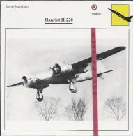 Vliegtuigen.- Hanriot H-220 - Jachtvliegtuigen. -  Frankrijk - Vliegtuigen