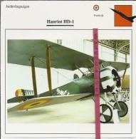 Vliegtuigen.- Hanriot HD-1 - Jachtvliegtuigen. -  Frankrijk - Vliegtuigen