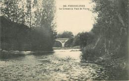 Dép 23 - Fresselines - La Creuse Au Pont De Vervy - Bon état - Sonstige Gemeinden
