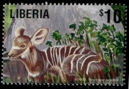 (cl.12 - P.50) Liberia ** N° 3478 (ref. Michel Au Dos) - Le Bongo - - Briefmarken