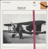 Vliegtuigen.- Nieuport 28 - Jachtvliegtuigen. -  Frankrijk - Vliegtuigen