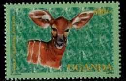 (cl.12 - P.50) Ouganda ** N° 1934 (ref. Michel Au Dos) - Le Bongo - - Briefmarken