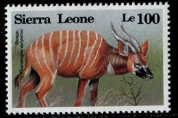 (cl.12 - P.50) Sierra Leone ** N° 1687 (ref. Michel Au Dos) - Le Bongo - - Briefmarken