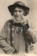 Postcard / CP / Costumes Bretons / Type De Vieillard Breton / No 336 / Ed. E.L.D. / 1913 - Folklore