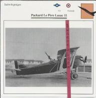 Vliegtuigen.- Packerd Le Père Lusac 11 - Jachtvliegtuigen. -  Frankrijk. - V.S. - Vliegtuigen