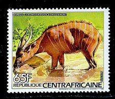 (cl.12 - P.51) Centrafrique ** N° 736 (ref. Michel Au Dos) - Antilope Bongo - - Briefmarken