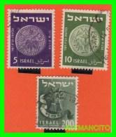ISRAEL  SELLOS AÑO 1949 - Israel