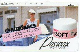 Savon Crème Femme Cosmétique Cosmetic Télécarte Phonecard  B 286 - Parfum