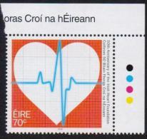 IRELAND EIRE 2016 MNH - 50th Anniversary Of The Irish Heart Foundation, Health, MNH Corner - 1949-... República Irlandése
