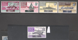 British Virgin Islands 1970 Ship Definitives MNH CV £34 (2 Scans) - British Virgin Islands