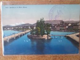 GENEVE . CACHET MILITAIRE . TRAIN SANITAIRE - Switzerland