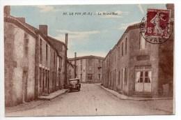 LE PIN (79) - LA GRAND'RUE - AUTOMOBILE - France