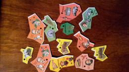 1 Lot De 19 Magnets, France Et Europe - Magnets
