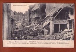 1 Cpa Peronne - Guerre 1914-18