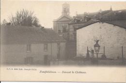 NEUFCHATEAU ..-- DVD 9595 . Devant Le Château . - Neufchateau