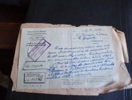 MINISTERE DES FINANCES SERVICE DES DOMAINES 1950 SANARY-OLLIOULES- Cannes - Francia